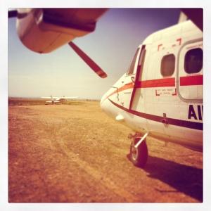 Landing strip, the Mara