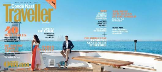 CONDÉ NAST TRAVELLER MIDDLE EAST COVER
